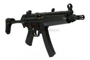 АВТОМАТ CYMA MP-5, EBB имитация отдачи, металл, пластик, выдвижной приклад, ЗУ, АКБ - CM049J