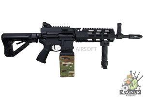 G&G CM16 LMG AEG - Black