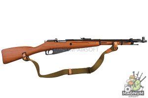 Gun Heaven (WinGun) Mosin-Nagant Co2 Bolt Action Rifle w/ Realistic Imitation Wood Furniture