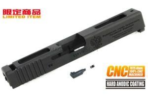 Guarder 7075 Aluminum CNC Slide for TM G18C FSB (Black)