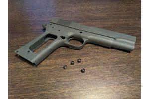 Guarder Aluminum Slide & Frame for MARUI M1911A1 -2015 New Version (None Marking/Black)