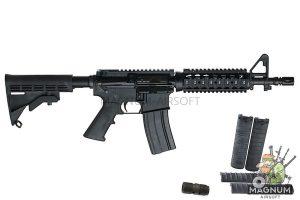 Inokatsu COLT M4 CQBR Gas Blowback Rifle w/ FREE MAGAZINE (SUPER VERSION)