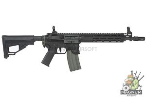 EMG Sharps Bros 'Jack' Licensed Full Metal M4 AEG 10 inch SBR - Black (by ARES)