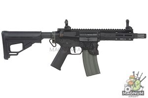EMG Sharps Bros 'Jack' Licensed Full Metal M4 AEG 7 inch SBR - Black (by ARES)