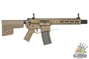 EMG Sharps Bros 'Warthog' Licensed Full Metal Advanced AEG Rifle - 10 inch SBR DE (by ARES)