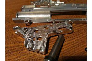 RETRO ARMS CNC Split Gearbox SR25 (8mm) - QSC