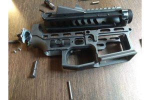 RETRO ARMS CNC receiver AR15 (Skeletonized) - B