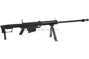 ВИНТОВКА BARRET M107 SNOW WOLF AEG, металл, пластик, без оптики, сошки SW-013 BK