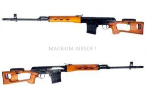 Снайперская винтовка SVD Spring (BK) S.V.D.B. (A&K)