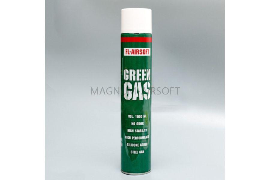 Green Gas FL Airsoft 1000 - Green Gas FL-Airsoft, 1000 мл. (FL-1000)