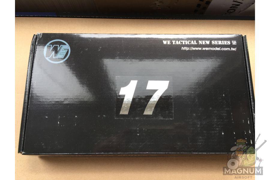 IMG 4371 - Пистолет WE GLOCK-17 gen3 WE-G001A-BK / GP616