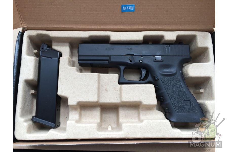 IMG 4372 - Пистолет WE GLOCK-17 gen3 WE-G001A-BK / GP616