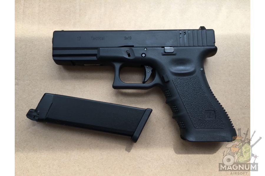 IMG 4373 - Пистолет WE GLOCK-17 gen3 WE-G001A-BK / GP616