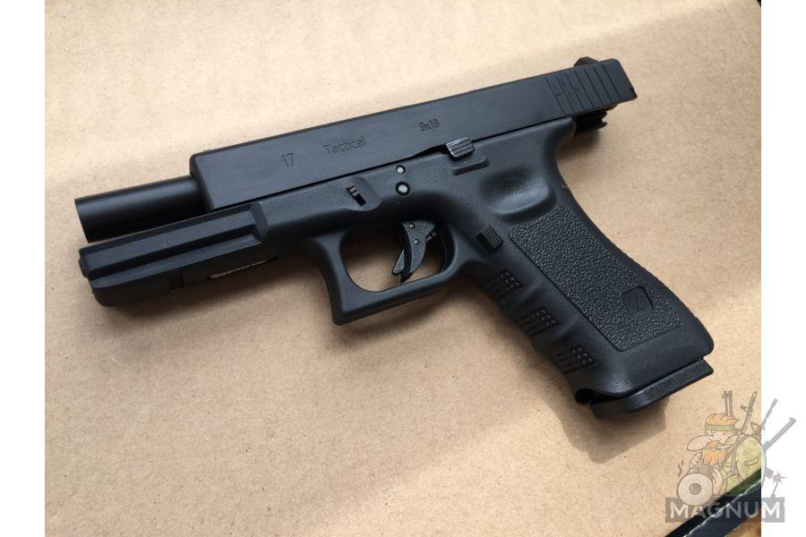 IMG 4377 - Пистолет WE GLOCK-17 gen3 WE-G001A-BK / GP616