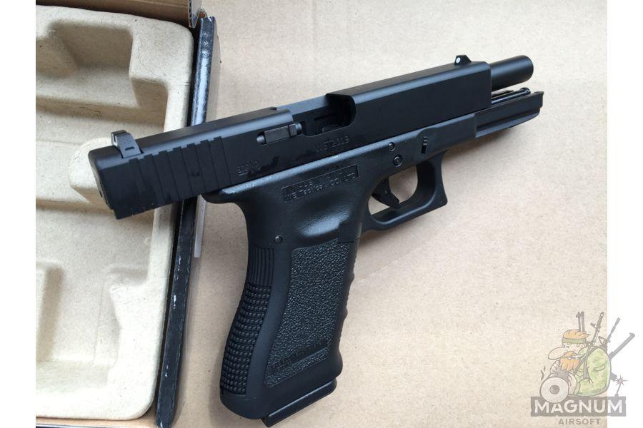 IMG 4378 - Пистолет WE GLOCK-17 gen3 WE-G001A-BK / GP616