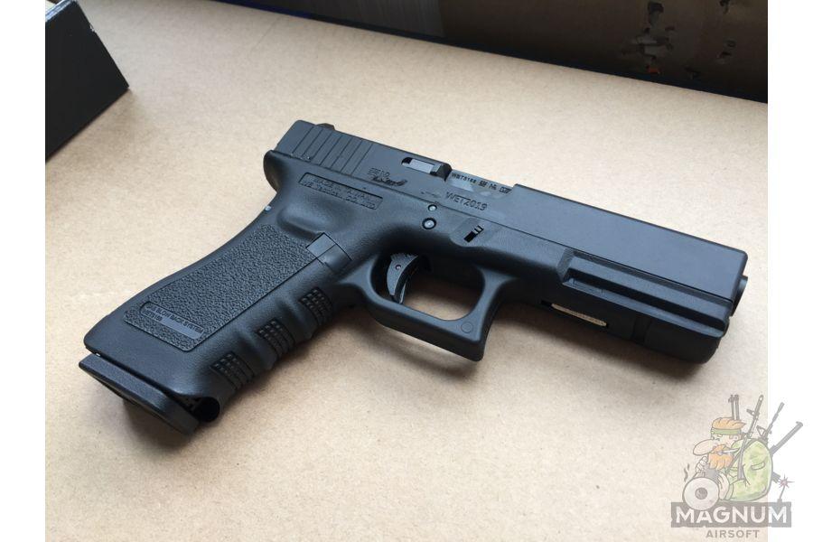 IMG 4379 - Пистолет WE GLOCK-17 gen3 WE-G001A-BK / GP616