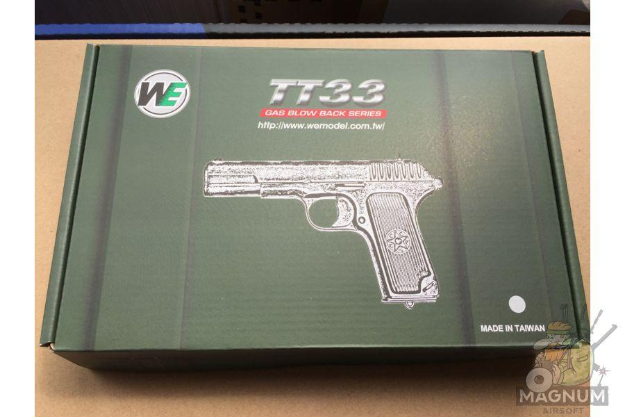IMG 4747 - Пистолет WE ТТ хромированный WE-E012-TT33-SV / GP122(SV)