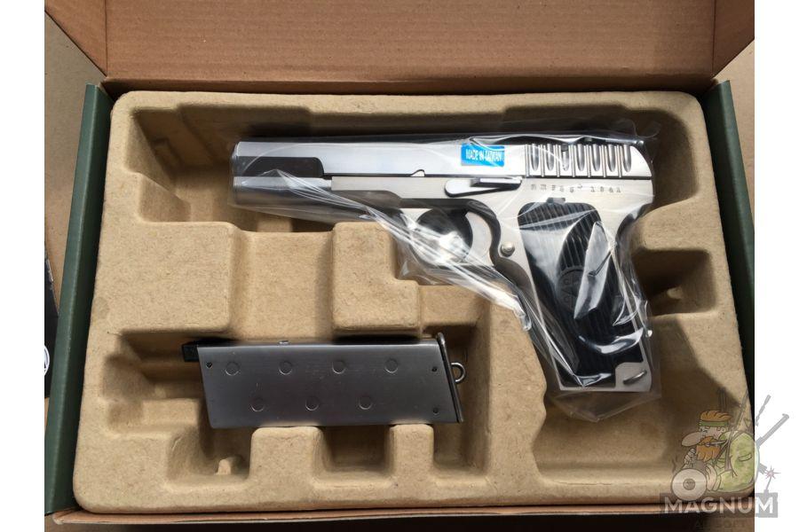 IMG 4748 - Пистолет WE ТТ хромированный WE-E012-TT33-SV / GP122(SV)