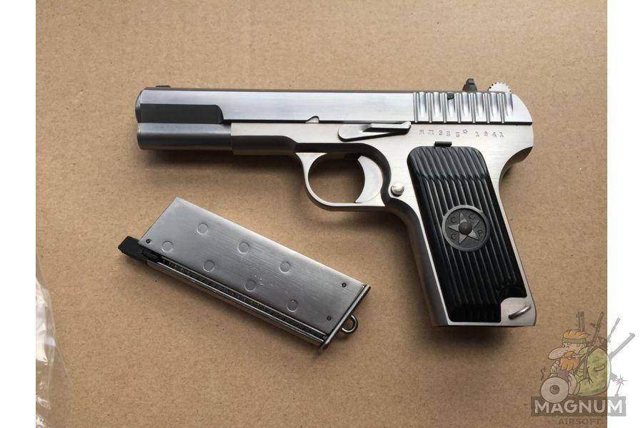 IMG 4749 - Пистолет WE ТТ хромированный WE-E012-TT33-SV / GP122(SV)