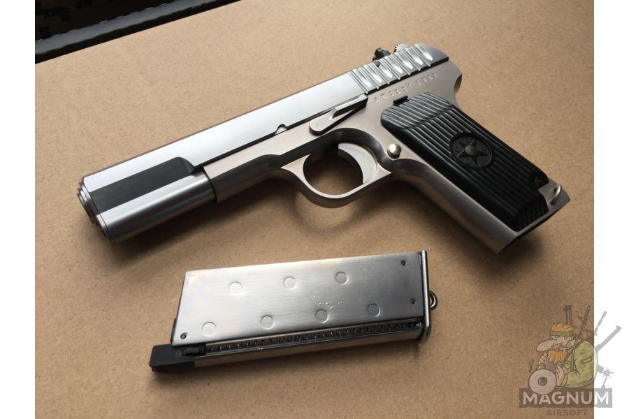 IMG 4750 - Пистолет WE ТТ хромированный WE-E012-TT33-SV / GP122(SV)