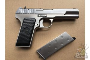 IMG 4751 300x200 - Пистолет WE ТТ Токарев хромированный WE-E012-TT33-SV / GP122(SV)