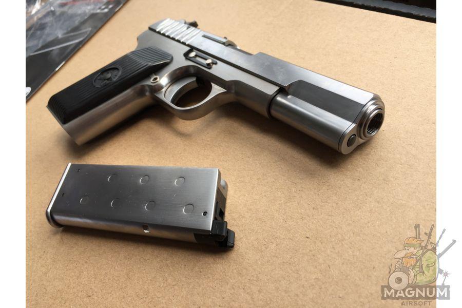 IMG 4752 - Пистолет WE ТТ хромированный WE-E012-TT33-SV / GP122(SV)