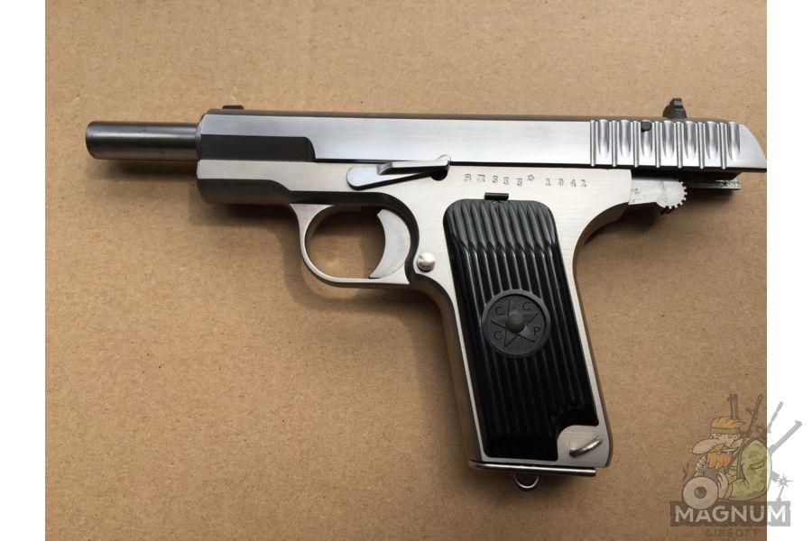IMG 4753 - Пистолет WE ТТ хромированный WE-E012-TT33-SV / GP122(SV)