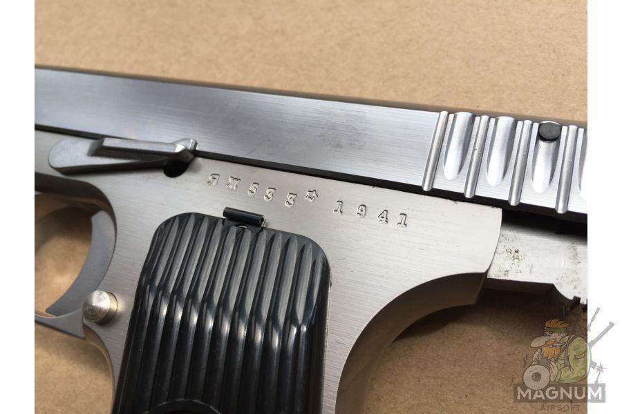 IMG 4754 - Пистолет WE ТТ хромированный WE-E012-TT33-SV / GP122(SV)