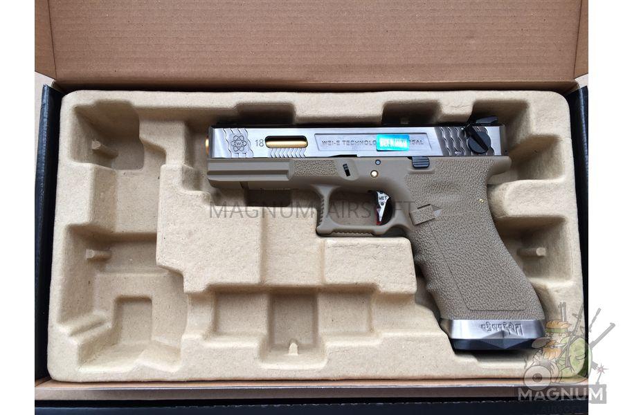 IMG 5538 - Пистолет WE GLOCK-18 G-Force WE-G002WET-4