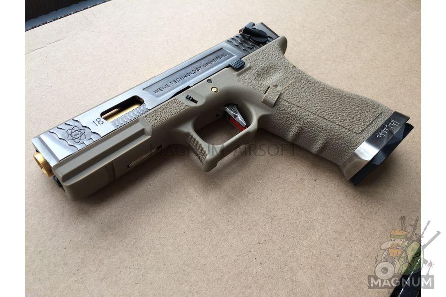 IMG 5541 - Пистолет WE GLOCK-18 G-Force WE-G002WET-4