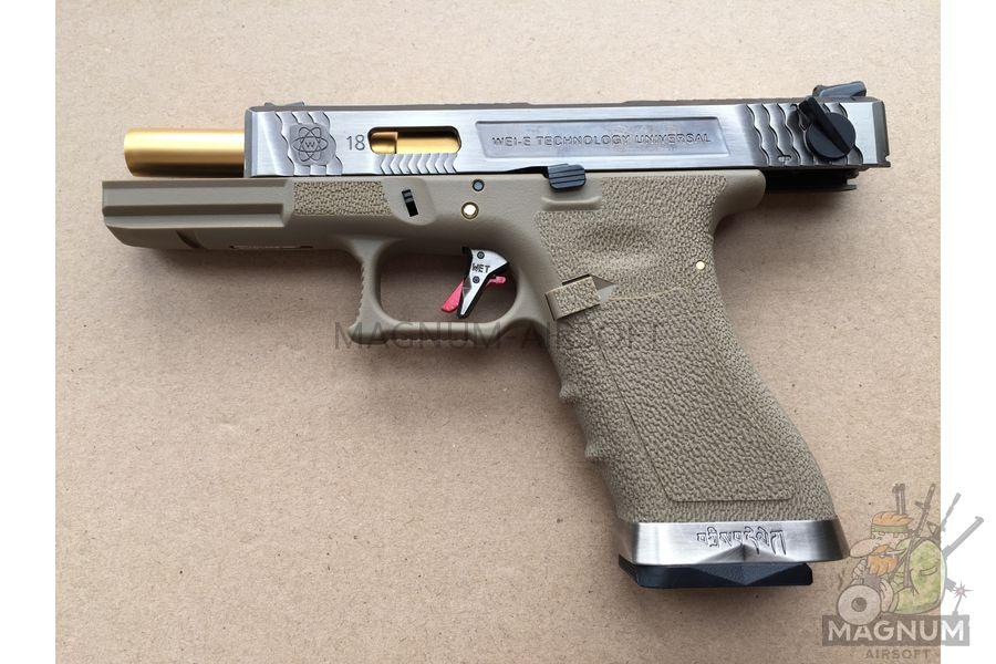 IMG 5546 - Пистолет WE GLOCK-17 G-Force WE-G001WET-4