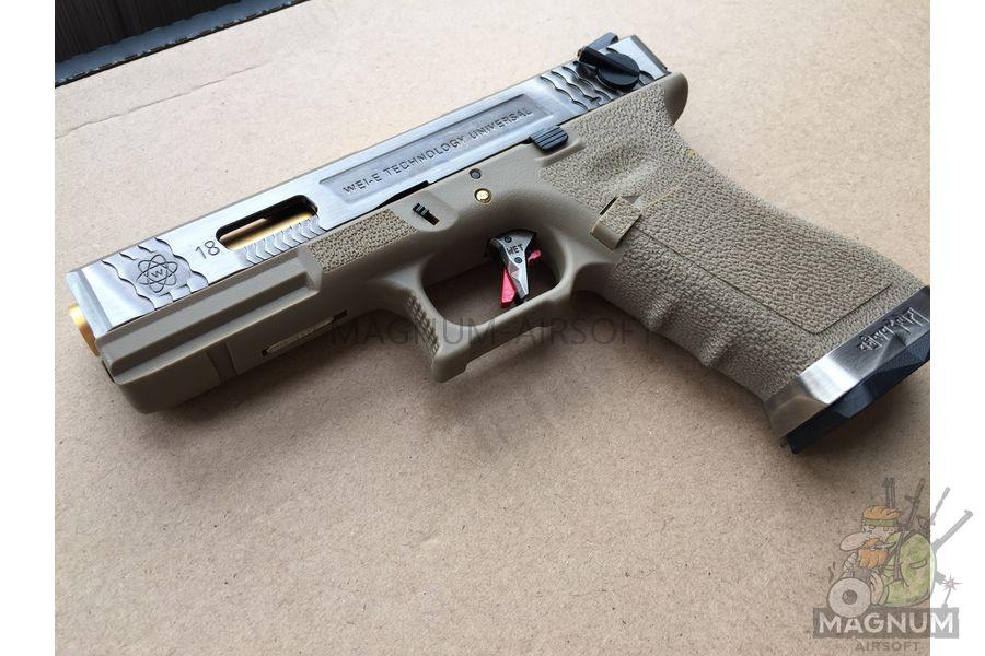 IMG 5549 - Пистолет WE GLOCK-18 G-Force WE-G002WET-4