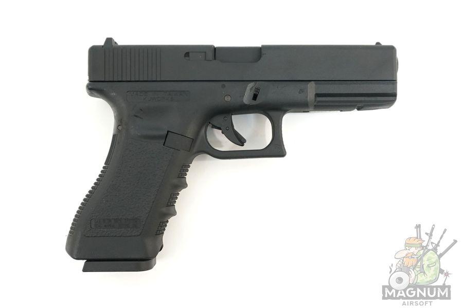 KP 18 MS B 2 - Пистолет KJW GLOCK G18 GBB GAS - KP-18-MS-BK