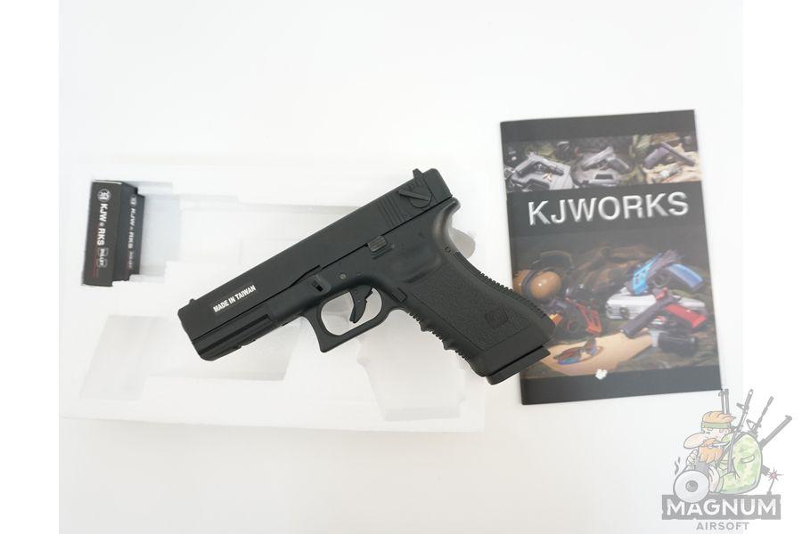 KP 18 MS BK 3 - Пистолет KJW GLOCK G18 GBB GAS - KP-18-MS-BK