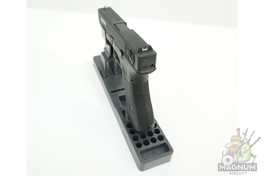 KP 18 MS BK 7 - Пистолет KJW GLOCK G18 GBB GAS - KP-18-MS-BK