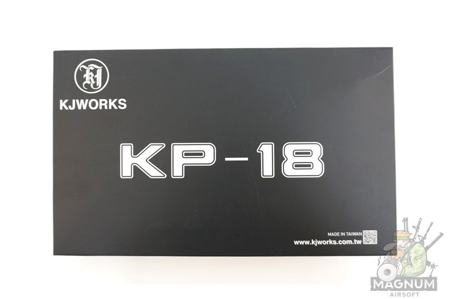 KP 18 MS BK 8 - Пистолет KJW GLOCK G18 GBB GAS - KP-18-MS-BK