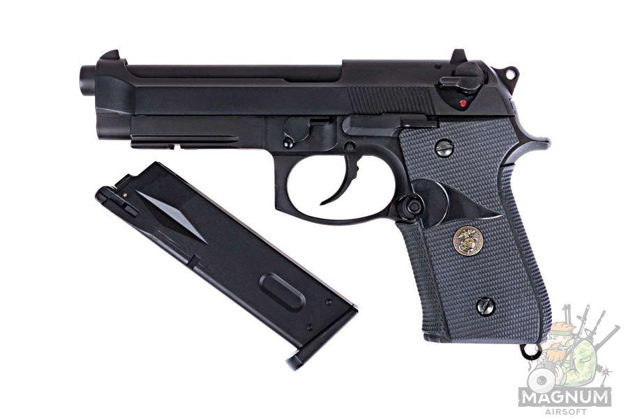 Pistolet WE BERETTA M92F WE M008 BK 1 - Пистолет WE BERETTA M92F WE-M008-BK / GP321