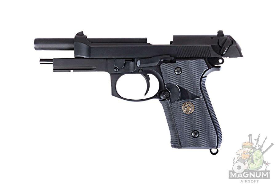 Pistolet WE BERETTA M92F WE M008 BK 2 - Пистолет WE BERETTA M92F WE-M008-BK / GP321