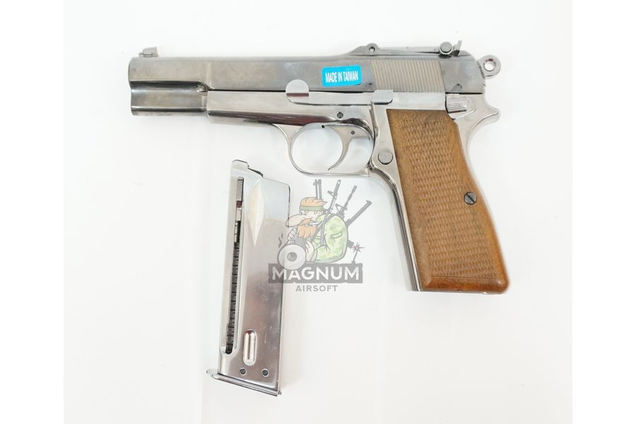 WE B002 3 - Пистолет WE Browning HI POWER WE-B002