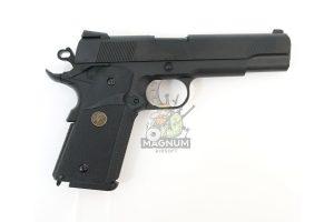 WE E008A BK 2 300x200 - Пистолет WE COLT M1911А1 M.E.U. Black, GP111, WE-E008 / WE-047