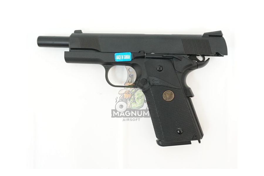 WE E008A BK 4 - Пистолет WE COLT M1911А1 M.E.U. Black, GP111, WE-E008 / WE-047