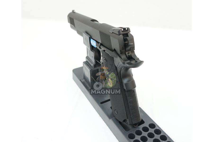 WE E008A BK 5 - Пистолет WE COLT M1911А1 M.E.U. Black, GP111, WE-E008 / WE-047