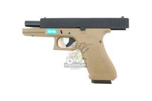 WE G001B TAN 6 300x200 - Пистолет WE GLOCK-17 gen4 WE-G001B-TAN / GP616-B(TAN)