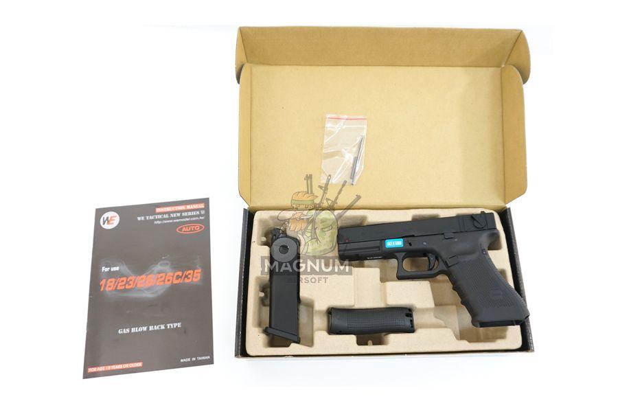 WE G002B BK 3 - Пистолет WE GLOCK-18 gen4 WE-G002B-BK / GP617B