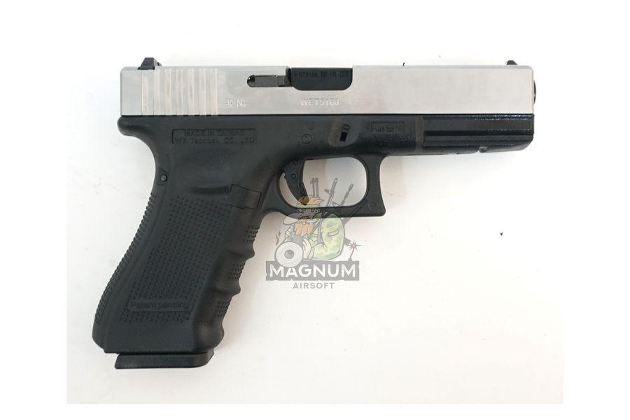 WE G002B SV 2 - Пистолет WE GLOCK-18 gen4 WE-G002B-SV / GP617B-SV