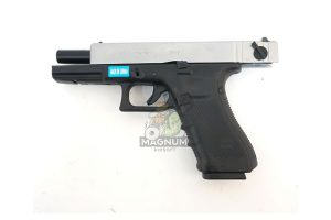 WE G002B SV 4 300x200 - Пистолет WE GLOCK-18 gen4 WE-G002B-SV / GP617B-SV