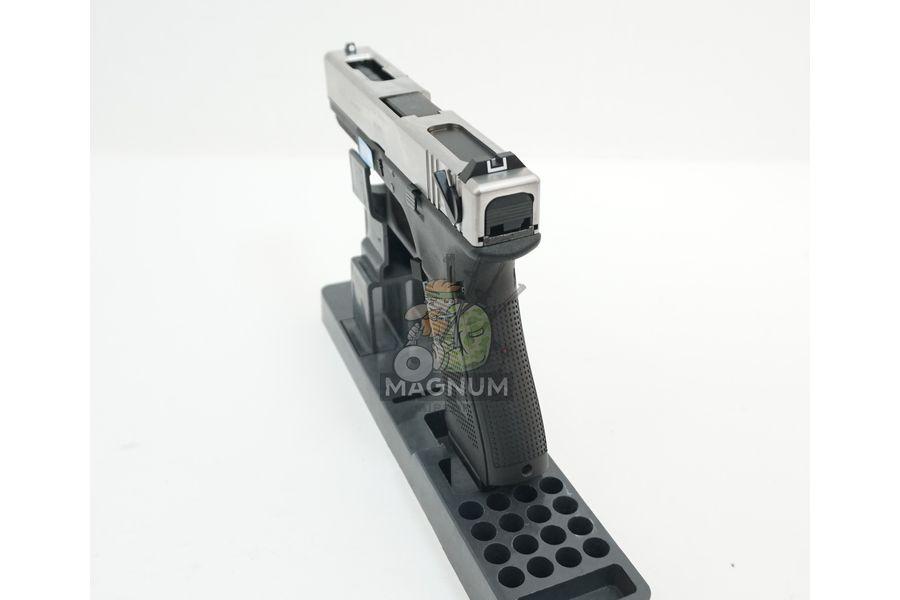 WE G002B SV 5 - Пистолет WE GLOCK-18 gen4 WE-G002B-SV / GP617B-SV
