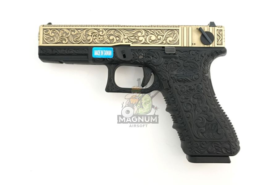 WE G002BOX BR 1 - Пистолет WE GLOCK-18 gen3 WE-G002BOX-BR