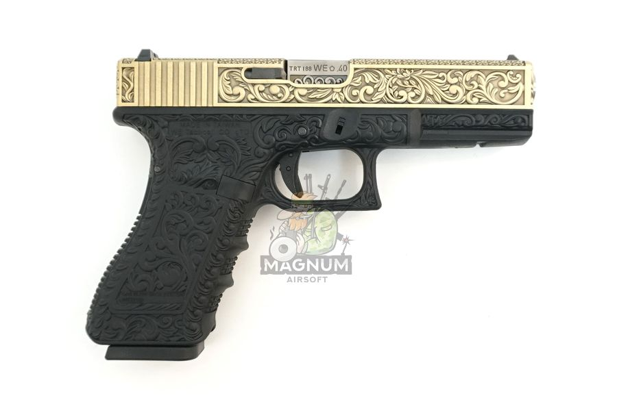 WE G002BOX BR 2 - Пистолет WE GLOCK-18 gen3 WE-G002BOX-BR