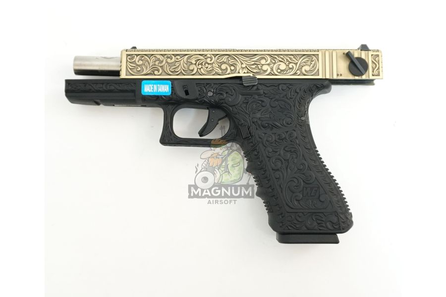 WE G002BOX BR 4 - Пистолет WE GLOCK-18 gen3 WE-G002BOX-BR